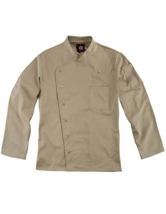Chef's Jacket Turin Man Classic CG Workwear - khaki