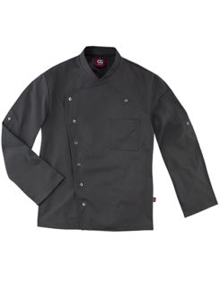 Chef's Jacket Turin Man Classic CG Workwear - raven