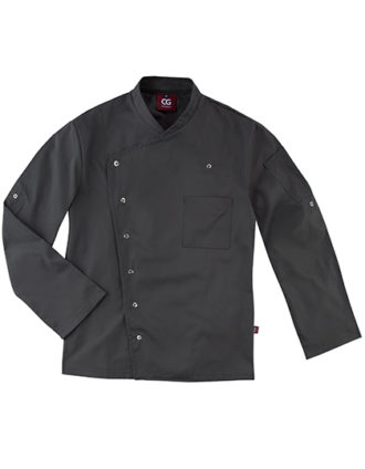 Chef's Jacket Turin Man Classic CG Workwear - raven