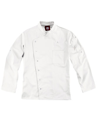 Chef's Jacket Turin Man Classic CG Workwear - white