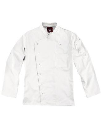 Chef's Jacket Turin Man Classic CG Workwear - white