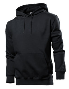 Hooded Sweatshirt Stedman - black opal