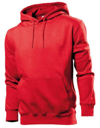 Hooded Sweatshirt Stedman - red