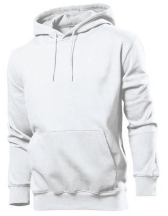 Hooded Sweatshirt Stedman - white