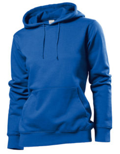 Hooded Women Sweatshirt Stedman - bright royal