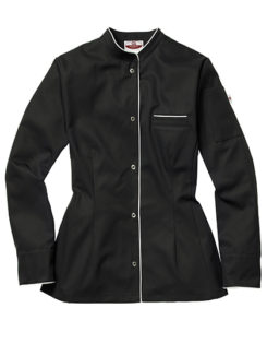 Kochjacke Pistoia Lady CG Workwear - black white