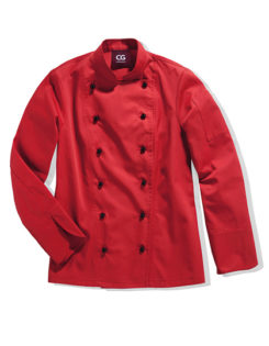Kochjacke Rimini Lady CG Workwear - red