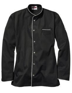 Kochjacke Trapani Man CG Workwear - black white