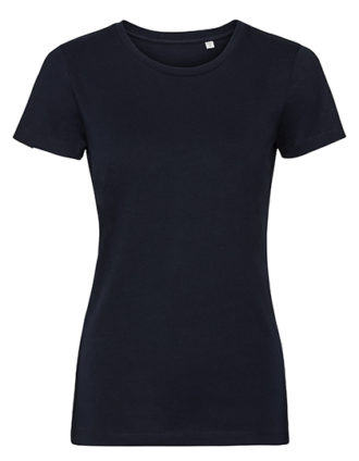 Ladies' Authentic Tee Pure Organic Russell - french navy
