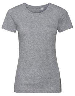 Ladies' Authentic Tee Pure Organic Russell - grey heather
