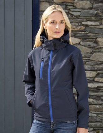 Ladies' TX Performance Hooded Softshell Jacket Result