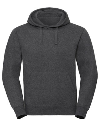 Men's Authentic Melange Hooded Sweat Russell - carbon melange