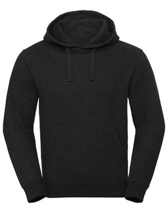 Men's Authentic Melange Hooded Sweat Russell - charcoal melange