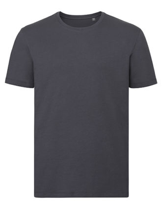 Men's Authentic Tee Pure Organic Russell - convoy grey