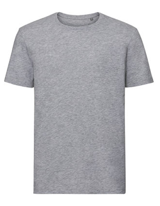 Men's Authentic Tee Pure Organic Russell - grey heather