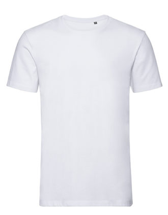 Men's Authentic Tee Pure Organic Russell - white