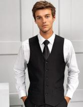 Men's Lined Polyester Waistcoat Premier