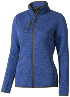 Tremblant Damen Strickfleecejacke Elevate - heather blue