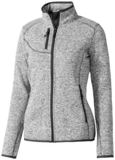 Tremblant Damen Strickfleecejacke Elevate - heather grey