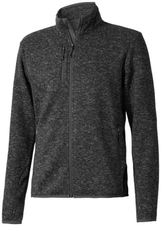 Tremblant Herren Strickfleecejacke Elevate - heather smoke