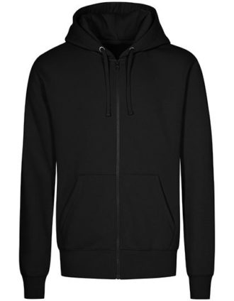 XO Hoody Jacket Men Promodoro - black