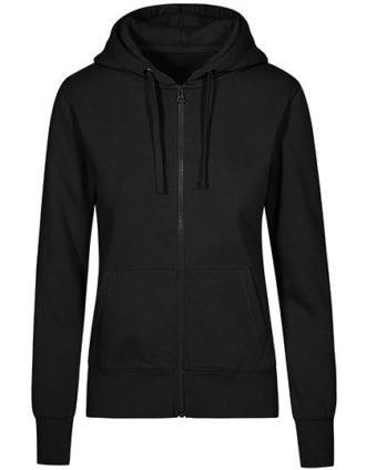 XO Hoody Jacket Women Promodoro - black
