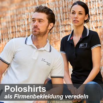 Firmenbekleidung Poloshirts