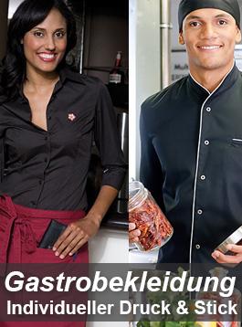 Gastrobekleidung bedrucken