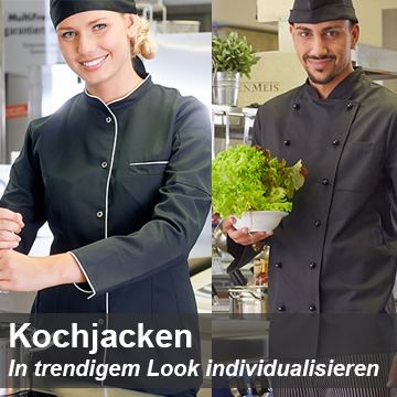 Kochjacken mit Logo