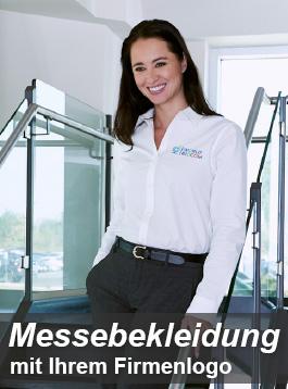 Messebekleidung mit eigenem Logo kaufen