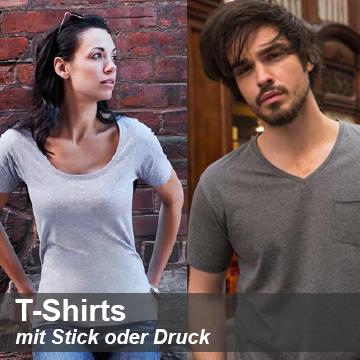 T-Shirts besticken lassen