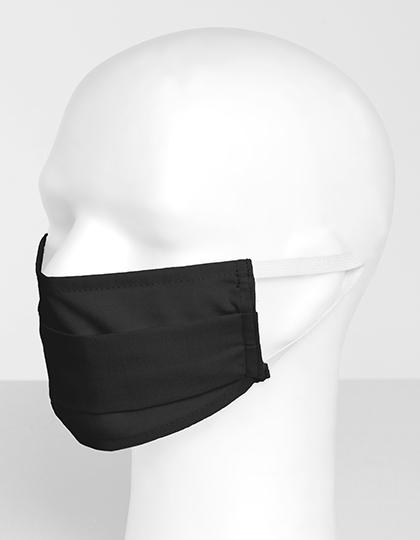 Mund Nasen Maske - schwarz
