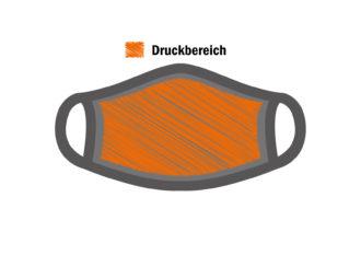 BIO Stoffmaske - Druckbereich