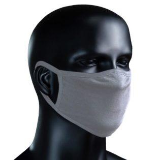 BIO Stoffmaske - grau