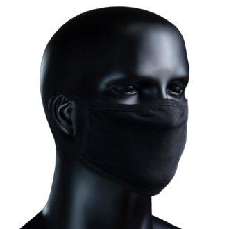 BIO Stoffmaske - schwarz