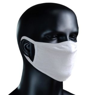 BIO Stoffmaske - weiß